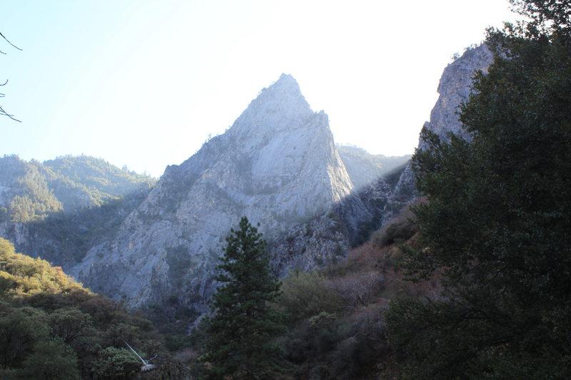 Rock Climbing Photo: Matterhunk catchin' rays
