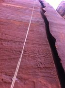 Rock Climbing Photo: Bomber chins at the top of this great splitter