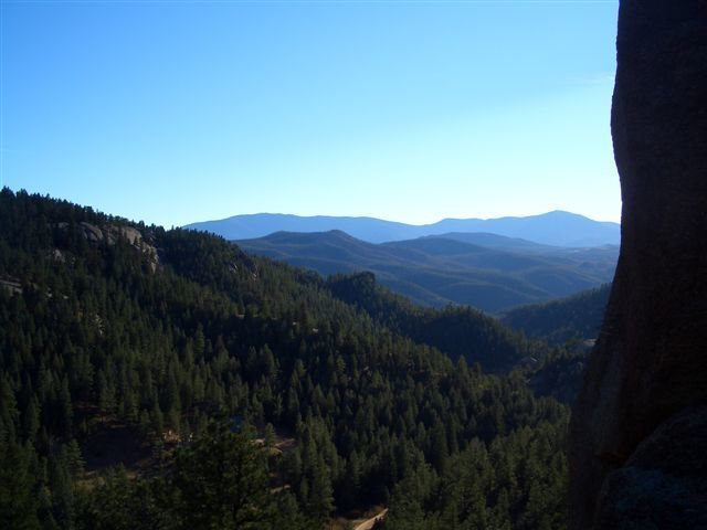 Rock Climbing Photo: View from The Camel Rock, South Platte Colorado.