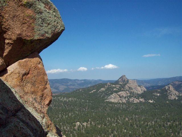 Rock Climbing Photo: Summit of Banner Peak, South Platte Colorado.