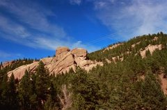 Rock Climbing Photo: The Sphinx Rock.