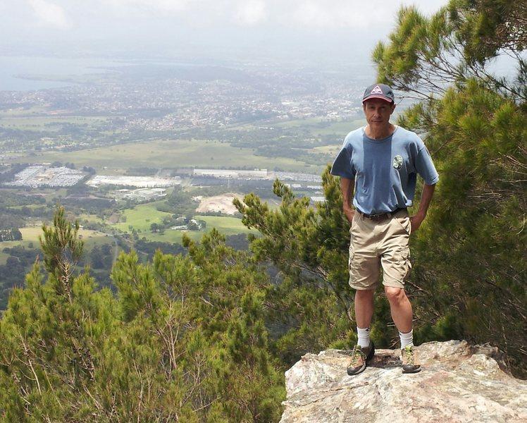 Eddie Prados on Mt. Kembla NSW Australia 2013