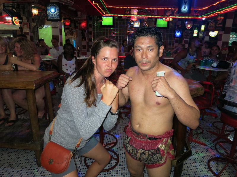My short stint as a Thai fighter.