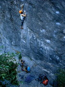 Rock Climbing Photo: After demonstrating the proper way to rig a ground...