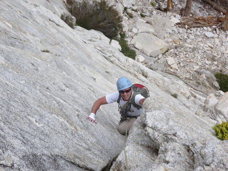 Rock Climbing Photo: Rob on p2
