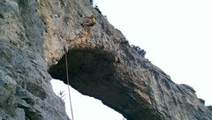 Rock Climbing Photo: Franchi dominating