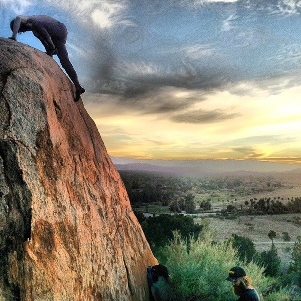 Rock Climbing Photo: Nicholas Rondilone finishing up Bugger As Fast As ...