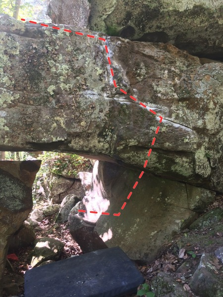 Rock Climbing Photo: Creeper Line