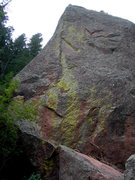 Rock Climbing Photo: This is on the Argonaut, at the bottom of the drai...