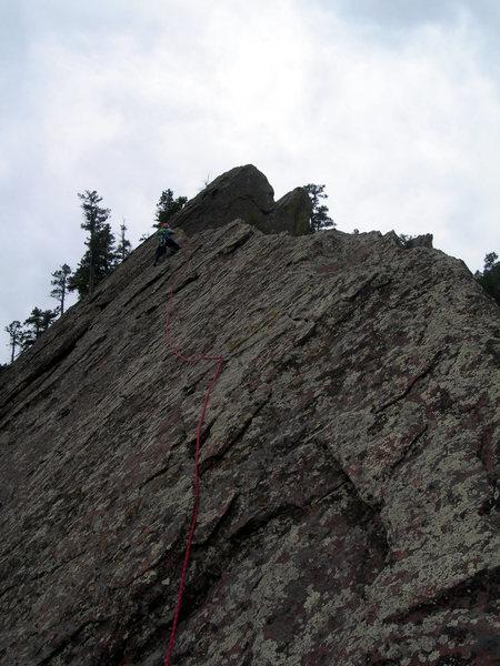 Rock Climbing Photo: Pitch 4.