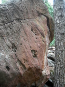 Rock Climbing Photo: Fun boulder problem.