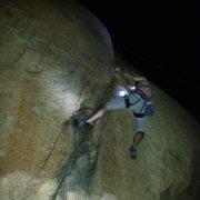 Rock Climbing Photo: Nicholas Rondilone on The Hardy Boy Crack. Photo b...