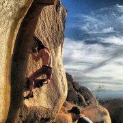 Rock Climbing Photo: Nicholas Rondilone on The Pop Gun.