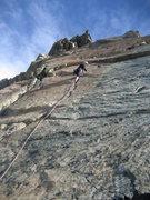 Rock Climbing Photo: Me on Ingalls Peak