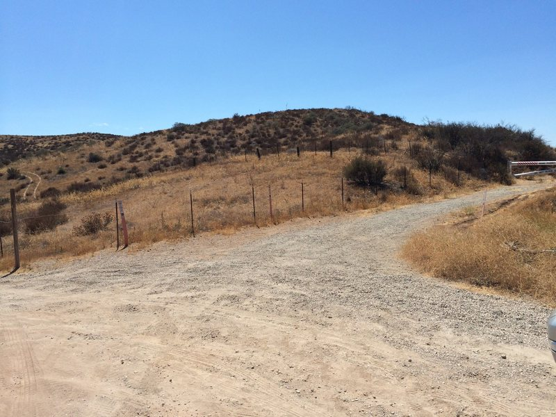 One of the USFS rangers indicated that there is a plan to grade this small hill to accomodate a picnic table and a toilet. Part of the Federal Lands Recreation Enhancement Act?