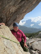 Rock Climbing Photo: Belay stance for pitch 2.
