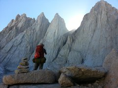 Rock Climbing Photo: Keeler Needle and Whitney