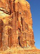 Rock Climbing Photo: Moab 2010