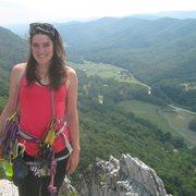 Rock Climbing Photo: me at Seneca