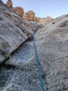 Rock Climbing Photo: Belayer's point of view