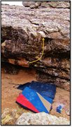 Rock Climbing Photo: Protoplus problem beta.