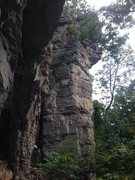 Rock Climbing Photo: Unknown 5.10c