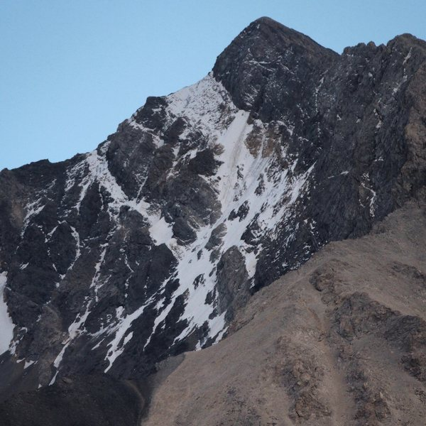 Rock Climbing Photo: Borah North Face, September 7, 2014
