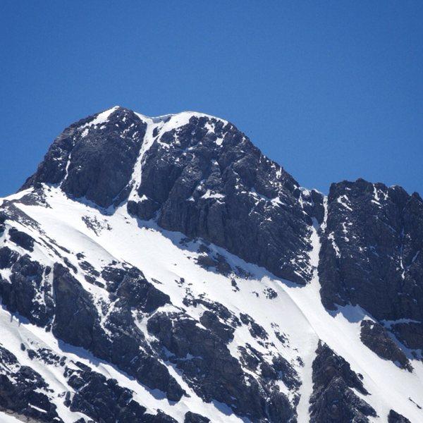 Rock Climbing Photo: Borah North Face, July 1, 2014
