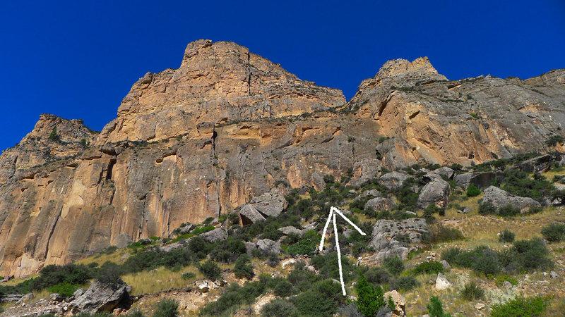 Rock Climbing Photo: Seems Like Old Times @ Dry Wall.