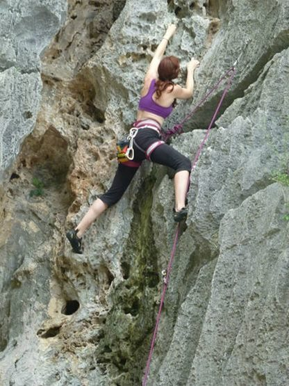 Sport Climbing Lan Ha Bay Aug 2014