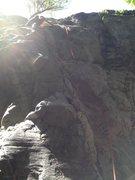 Rock Climbing Photo: Junkyard Patio, 5.11a, Forgotten Wall, Chekeamus C...