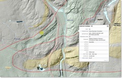 Rock Climbing Photo: Junkyard Bedrock Map