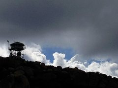 Rock Climbing Photo: The Keller Peak fire lookout, Keller Peak
