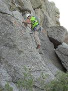 Rock Climbing Photo: Spider, low on Twilight.