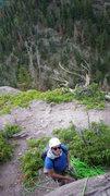 Rock Climbing Photo: Richie's got the belay.