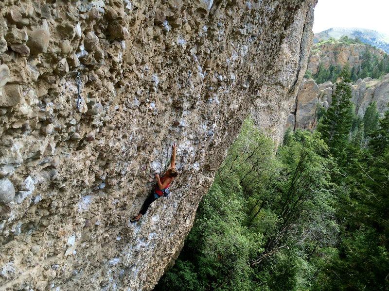 Rock Climbing Photo: Daddy at Cragganmore