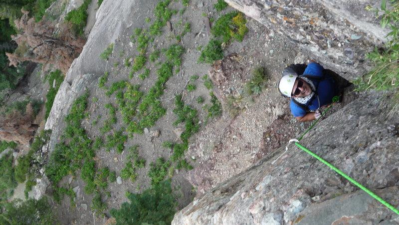 Rock Climbing Photo: Richie's got space madness.