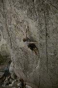 Rock Climbing Photo: ryan displaying proper L-beta