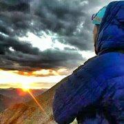Rock Climbing Photo: Sun Rise