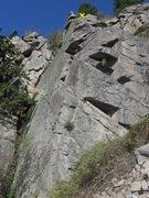 Rock Climbing Photo: About Face topo