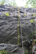 Rock Climbing Photo: Start of the 5.9