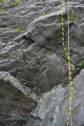 Rock Climbing Photo: Here is the start of the route.