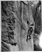 Rock Climbing Photo: working the infamous pebble face circa 2004, first...