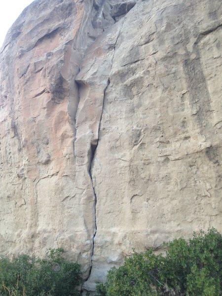 Rock Climbing Photo: The slipper