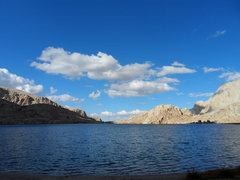 Rock Climbing Photo: Lone Pine Peak Area Meysan Lake