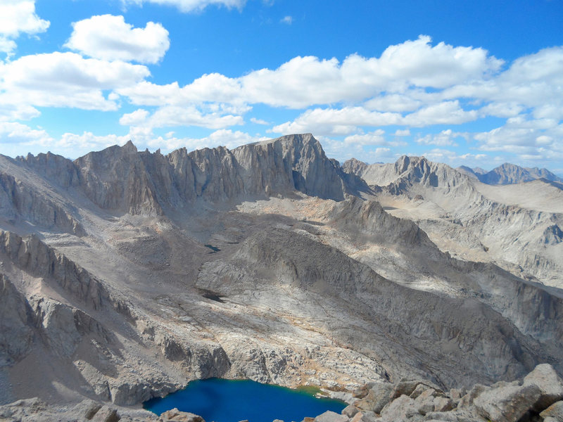 Rock Climbing Photo: Mt. Whitney View from Mt. Irvine