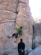 Rock Climbing Photo: Fun warm up