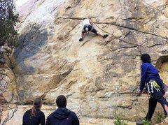 Rock Climbing Photo: Fun traverse