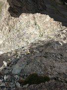 Rock Climbing Photo: Ellingwood North Ridge descent.