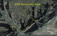 SOFB aproach to Astrodog in the Black Canyon near Montrose Colorado.